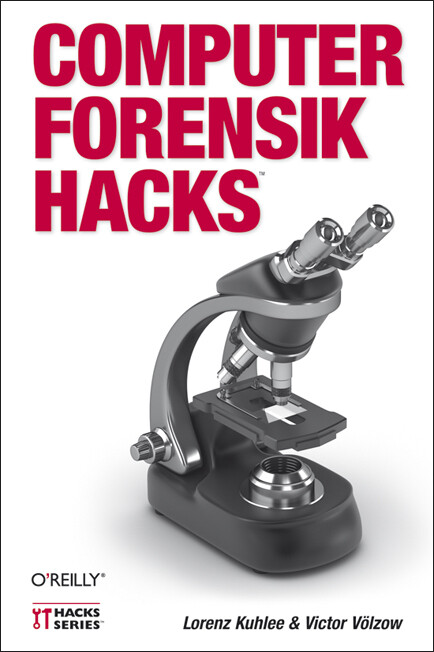 Computer-Forensik Hacks als Buch