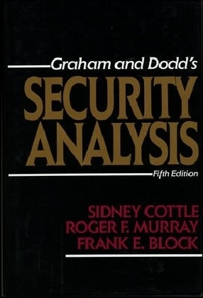 Security Analysis: Fifth Edition als Buch