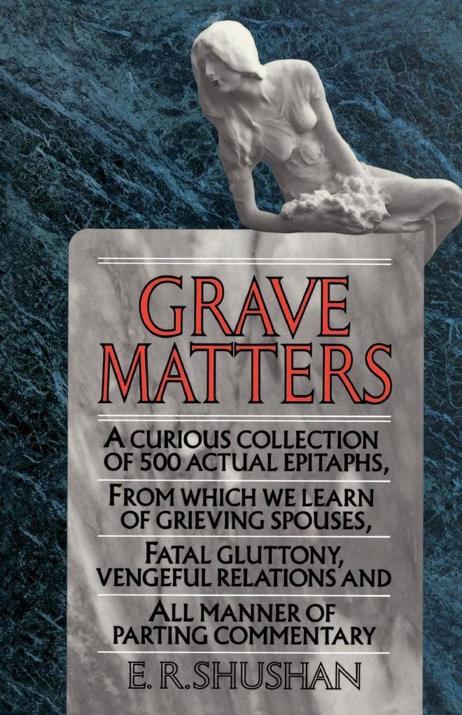 Grave Matters als Taschenbuch