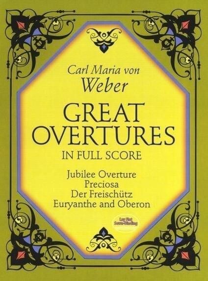 Great Overtures in Full Score als Taschenbuch