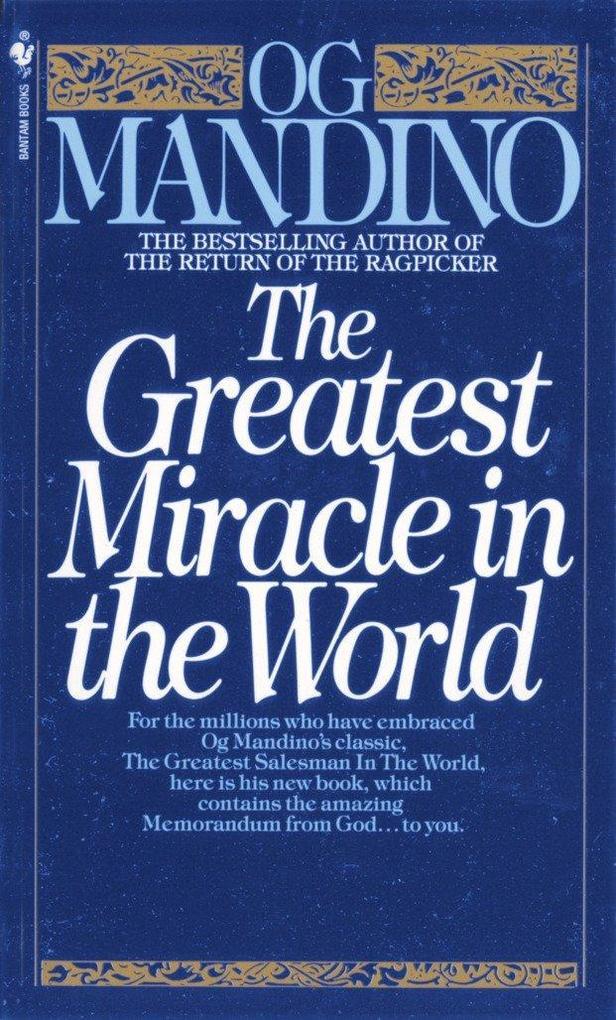Greatest Miracle In The World als Taschenbuch