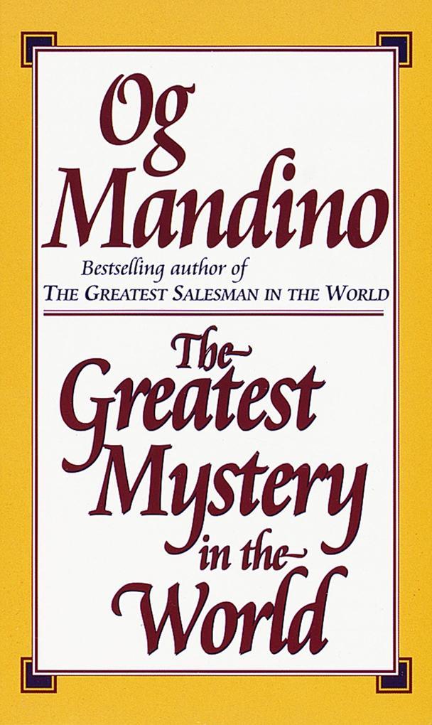 The Greatest Mystery in the World als Taschenbuch