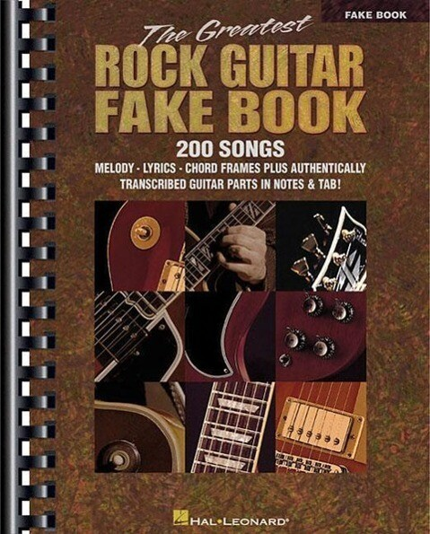 The Greatest Rock Guitar Fake Book als Taschenbuch