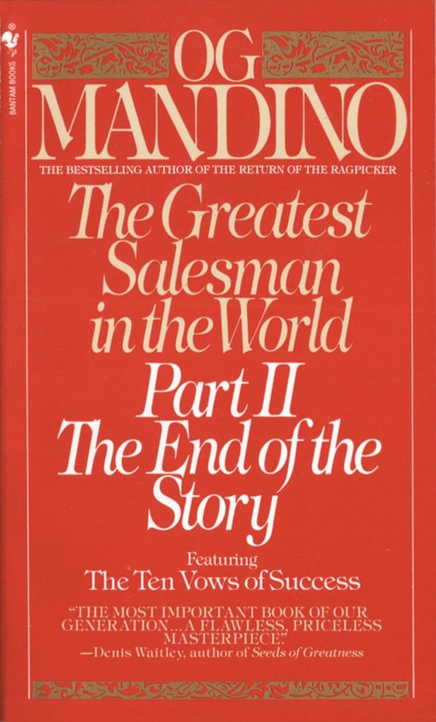 The Greatest Salesman in the World, Part II: The End of the Story als Taschenbuch