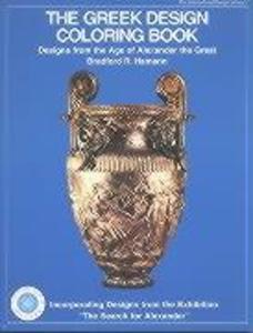Greek Design Coloring Book als Taschenbuch