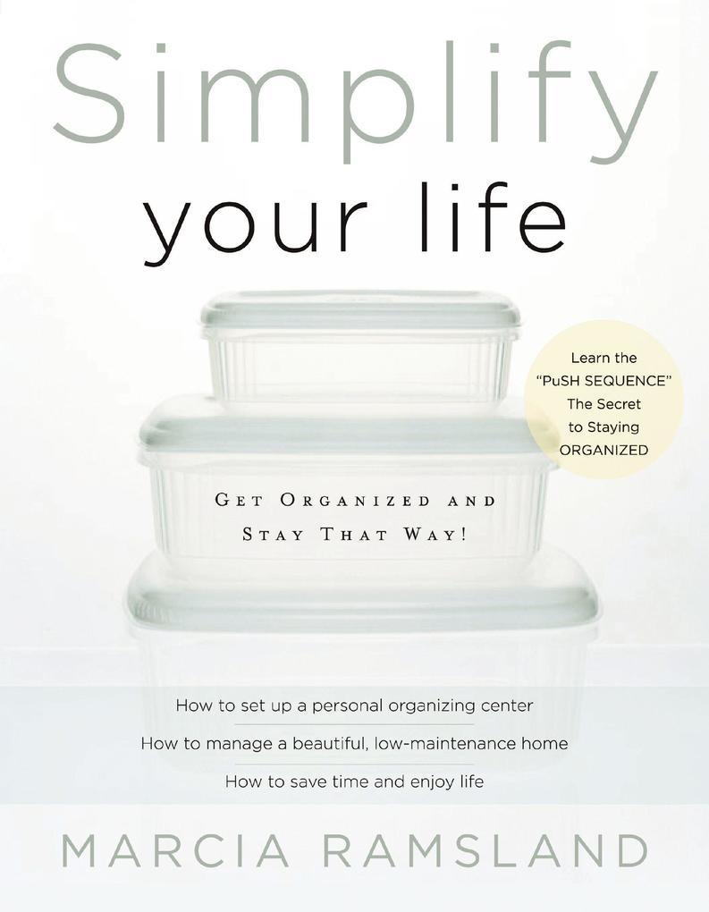 Simplify Your Life als eBook Download von Marci...