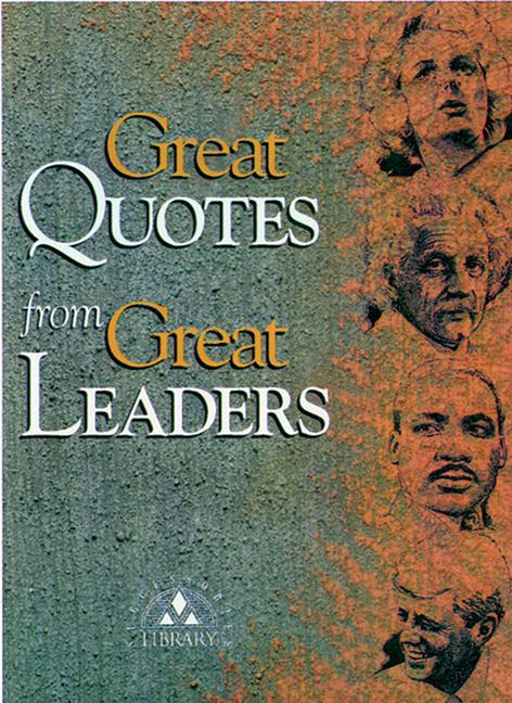 Great Quotes from Great Leaders als Taschenbuch