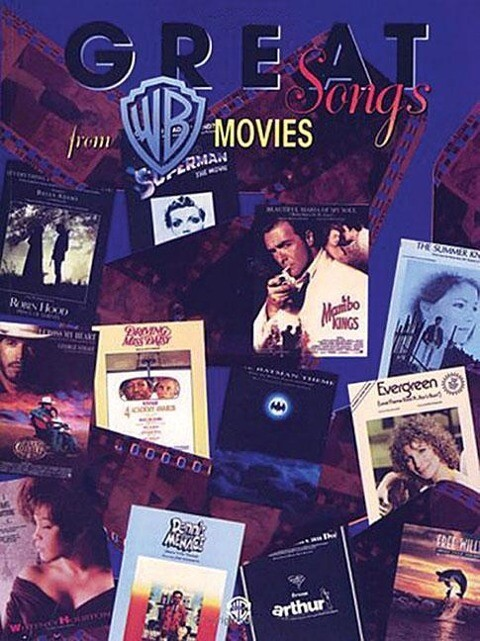 Great Songs from Warner Bros. Movies: Piano/Vocal/Chords als Taschenbuch