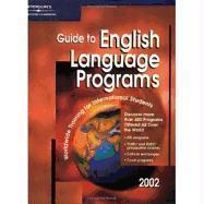 English Language Programs 2002, Guide to als Taschenbuch