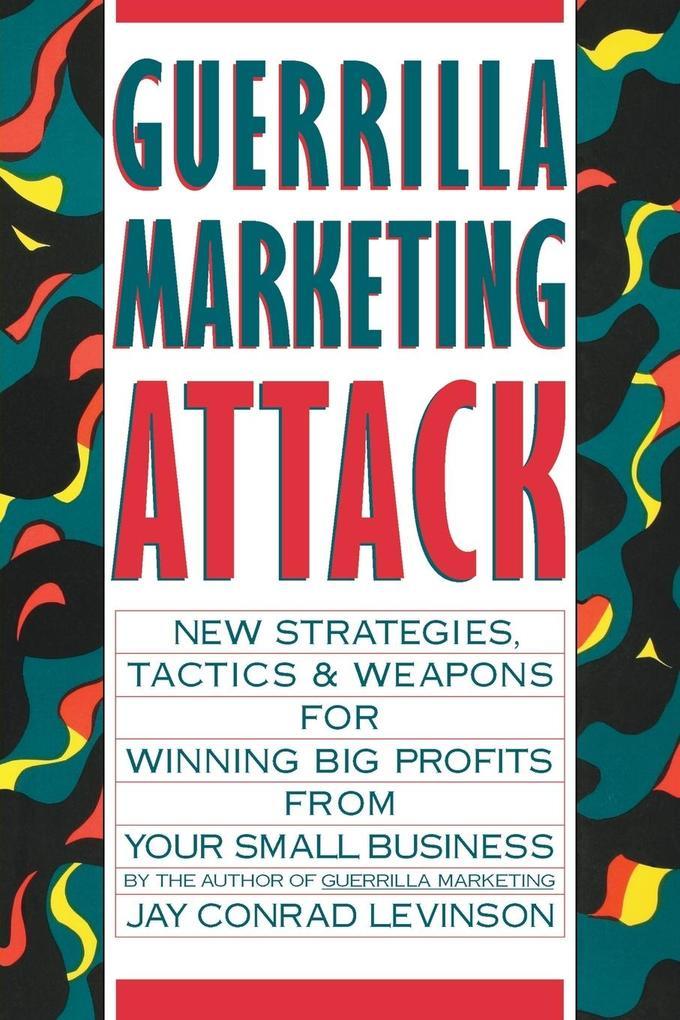 Guerrilla Marketing Attack als Buch