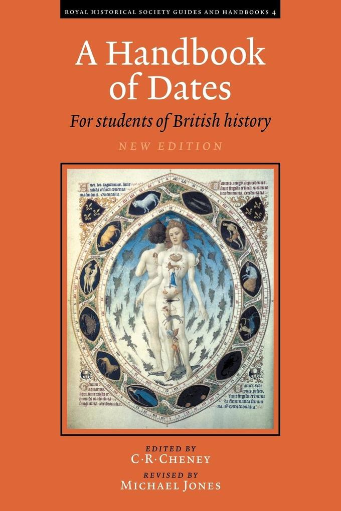 A Handbook of Dates: For Students of British History als Buch