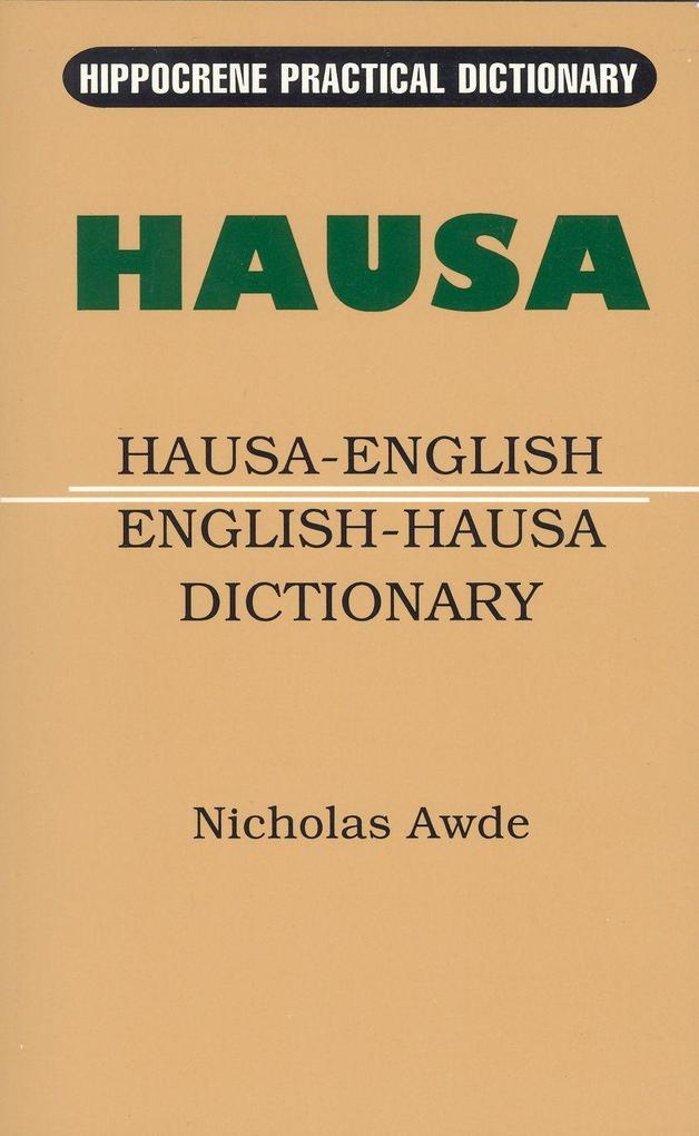 Hausa-English / English-Hausa Practical Dictionary als Taschenbuch