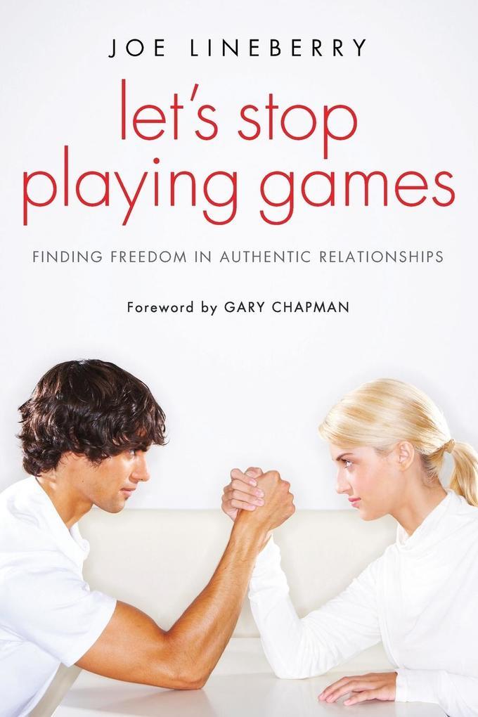 Let´s Stop Playing Games als Taschenbuch von Jo...