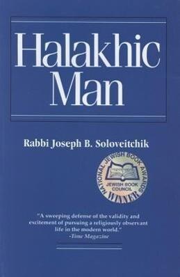 Halakhic Man als Taschenbuch