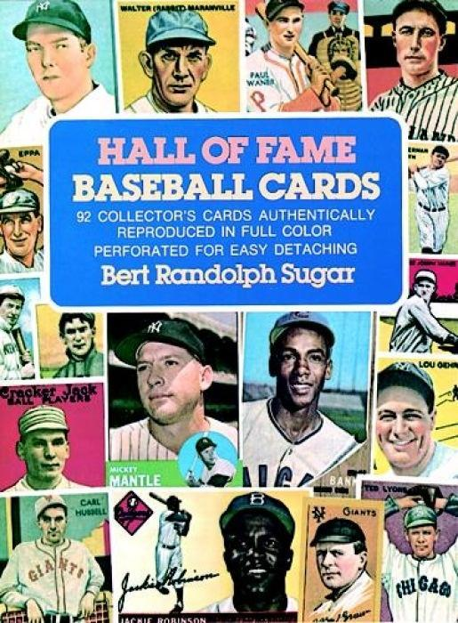 Hall of Fame Baseball Cards: 92 Collector's Cards Authentically Reproduced in Full Color als Taschenbuch