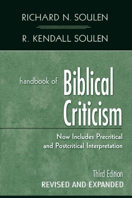 Handbook of Biblical Criticism (Revised and Expanded) als Taschenbuch
