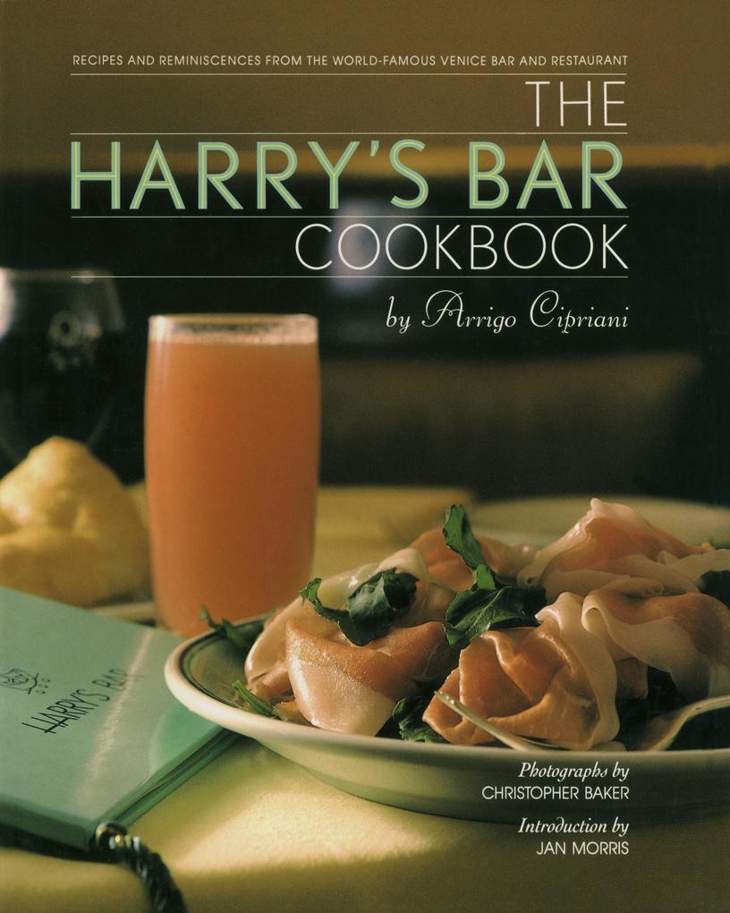 Harry's Bar Cookbook als Buch