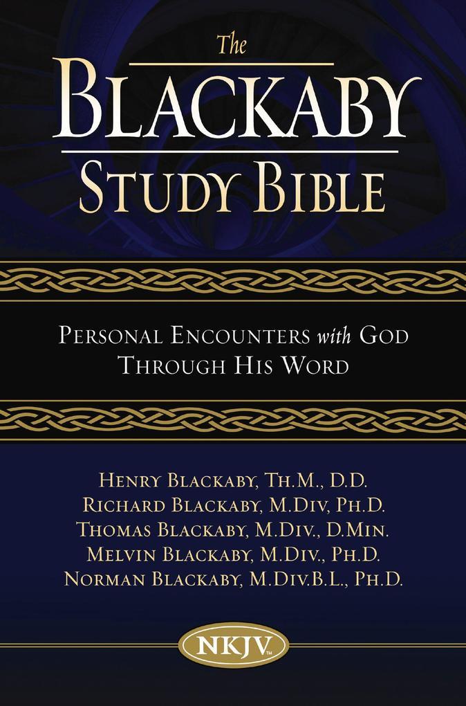 NKJV, The Blackaby Study Bible, eBook als eBook...
