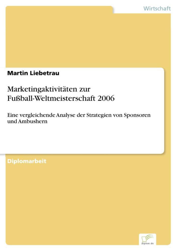 Marketingaktivitäten zur Fußball-Weltmeistersch...