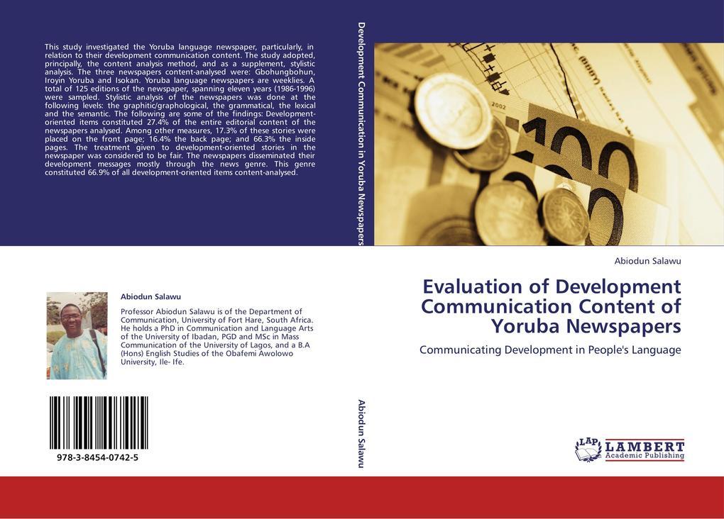 Evaluation of Development Communication Content...