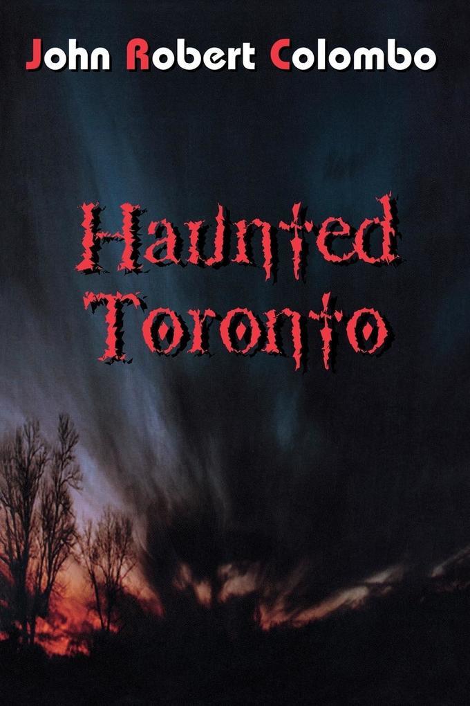 Haunted Toronto als Taschenbuch