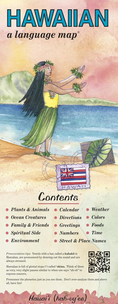 Hawaiian a Language Map als Buch