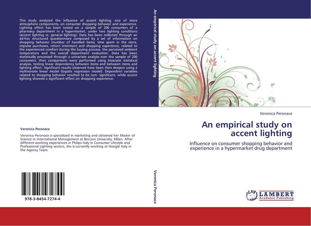 An empirical study on accent lighting als Buch ...