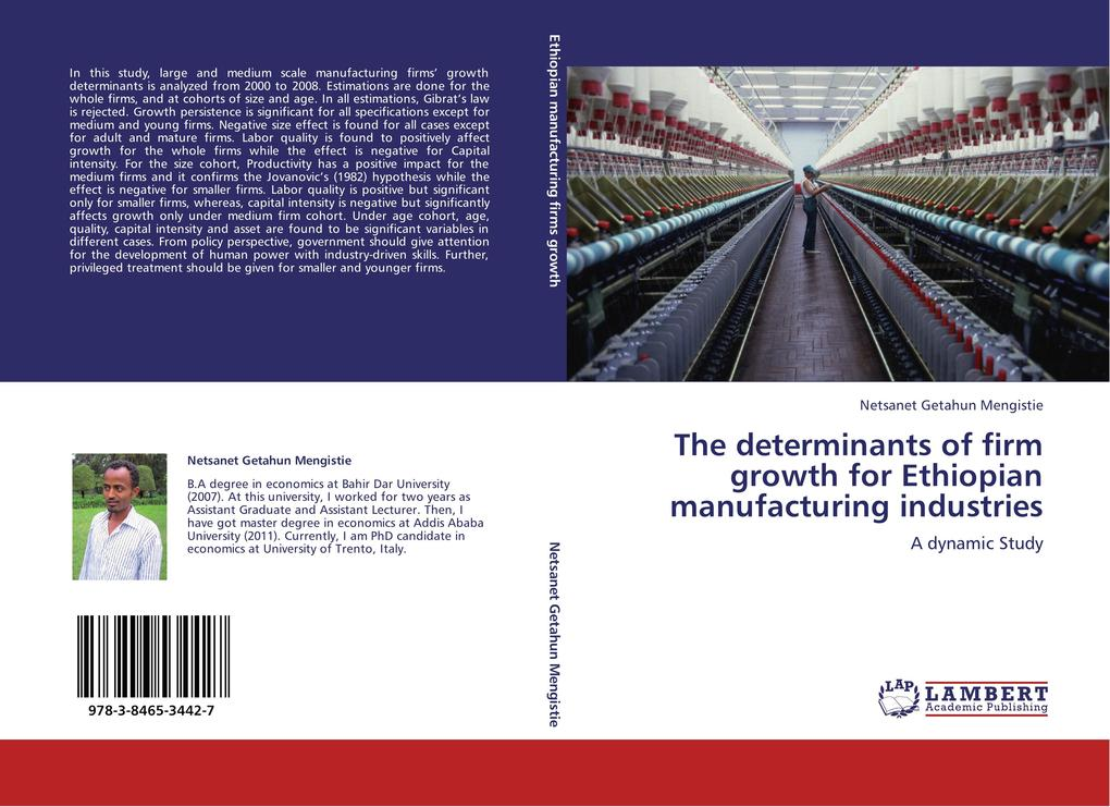 The determinants of firm growth for Ethiopian m...