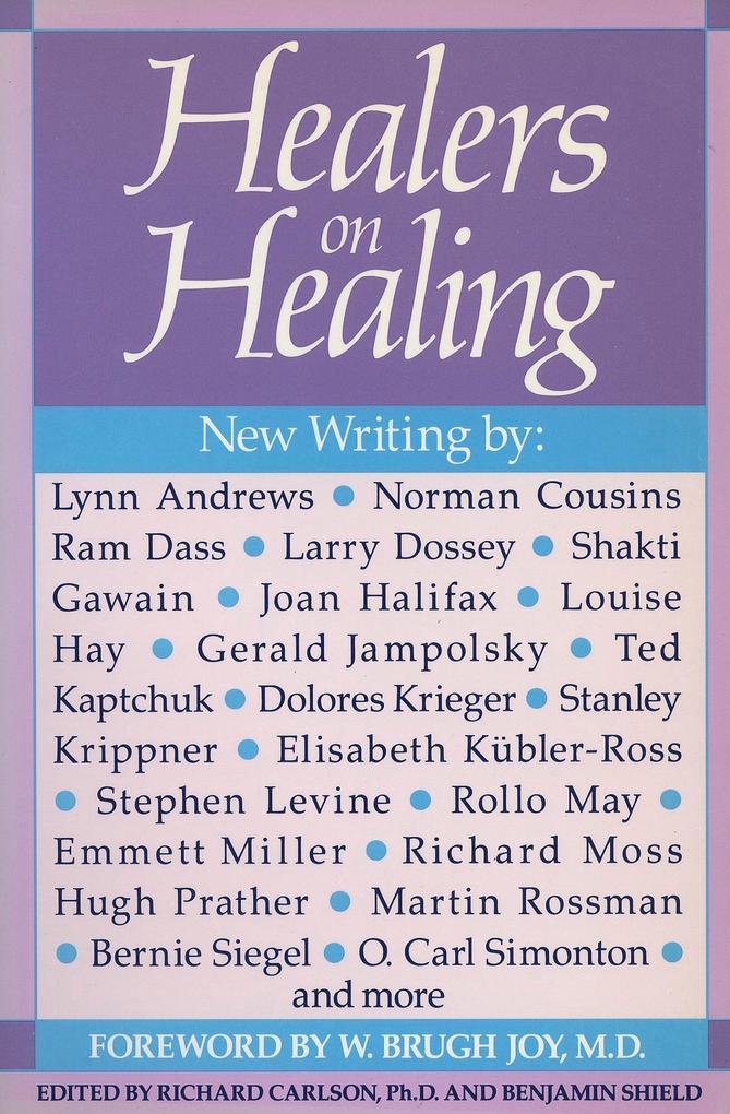 Healers on Healing als Taschenbuch
