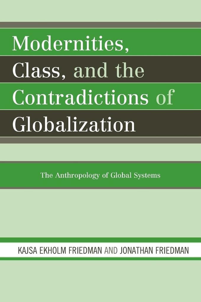 Modernities Class Contradict Gpb als Taschenbuch