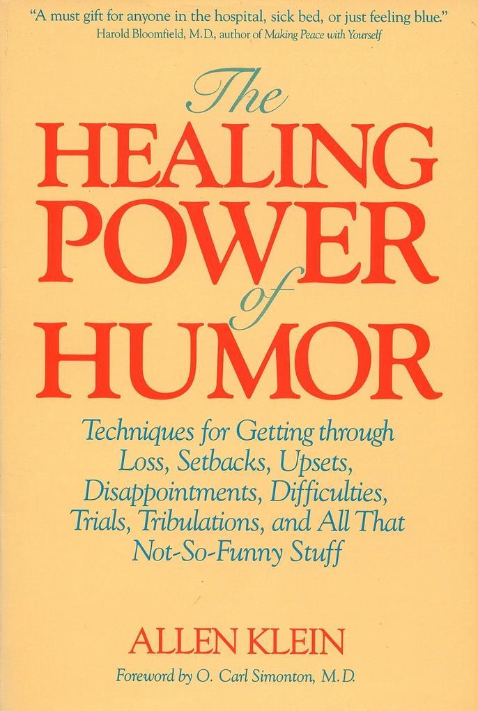 The Healing Power of Humor als Taschenbuch