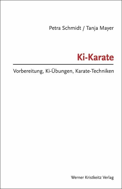 Ki-Karate als Buch