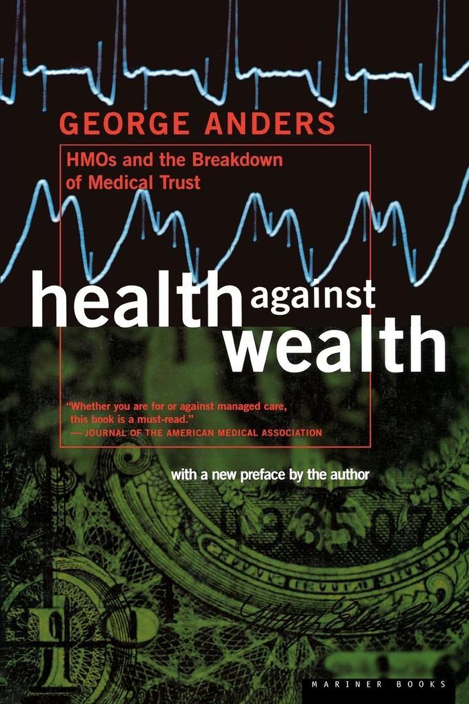 Health Against Wealth als Taschenbuch