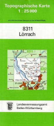 Lörrach 1 : 25 000 als Buch von