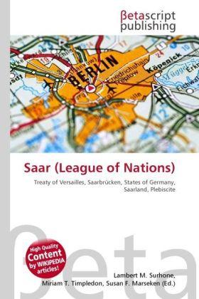 Saar (League of Nations) als Buch von