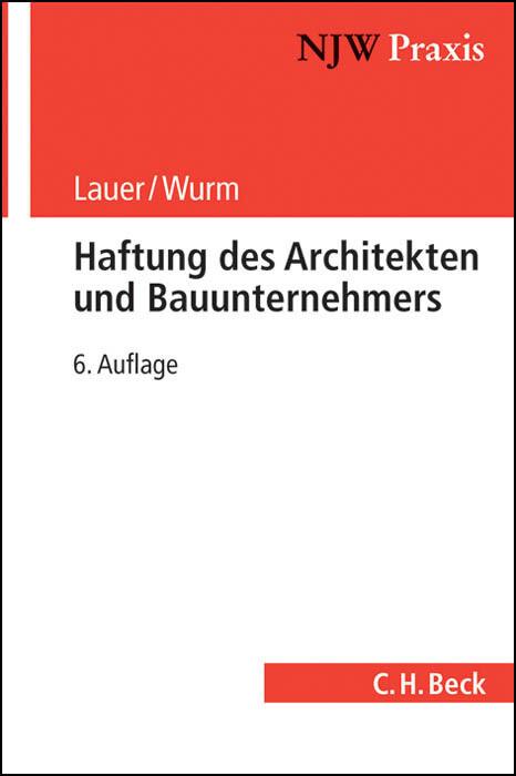 Haftung des Architekten und Bauunternehmers als...