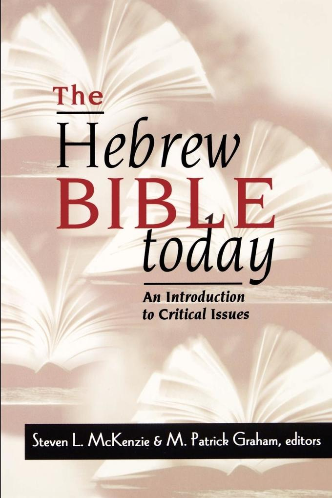The Hebrew Bible Today als Taschenbuch