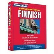 Pimsleur Finnish Conversational Course - Level 1 Lessons 1-16 CD: Learn to Speak and Understand with Pimsleur Language Programs