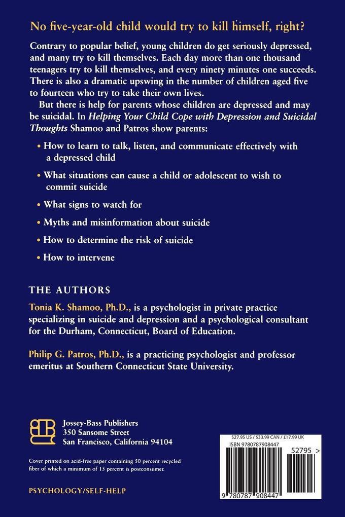 Helping Child Cope Depress Suicidal Rev als Taschenbuch