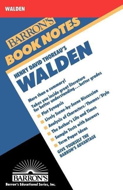 Henry David Thoreau's Walden als Taschenbuch