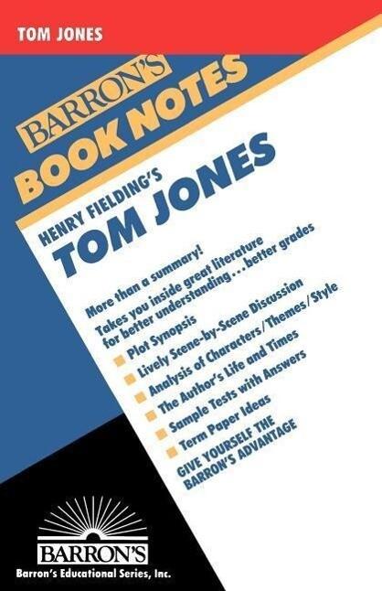 Henry Fielding's Tom Jones als Taschenbuch