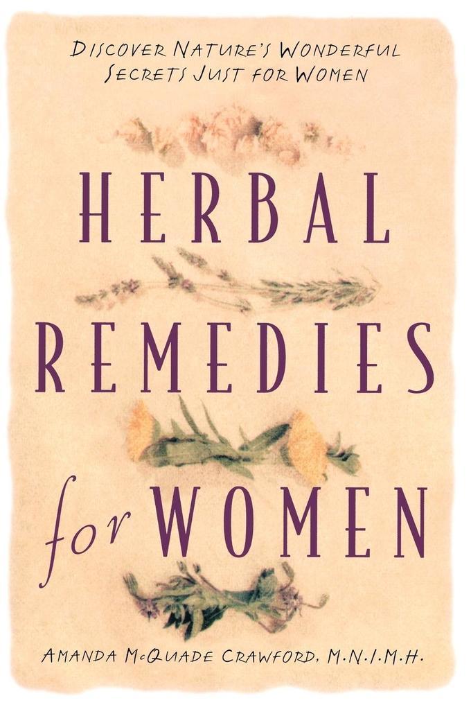 Herbal Remedies for Women als Taschenbuch