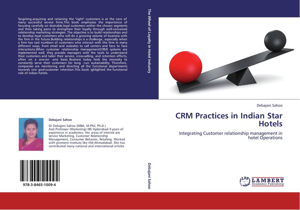 CRM Practices in Indian Star Hotels als Buch vo...