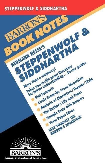 Hermann Hesse's Steppenwolf & Siddhartha als Taschenbuch