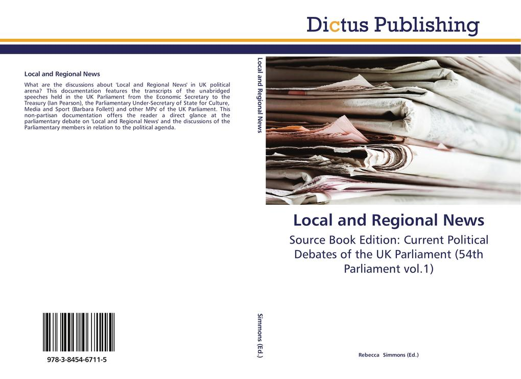 Local and Regional News als Buch von