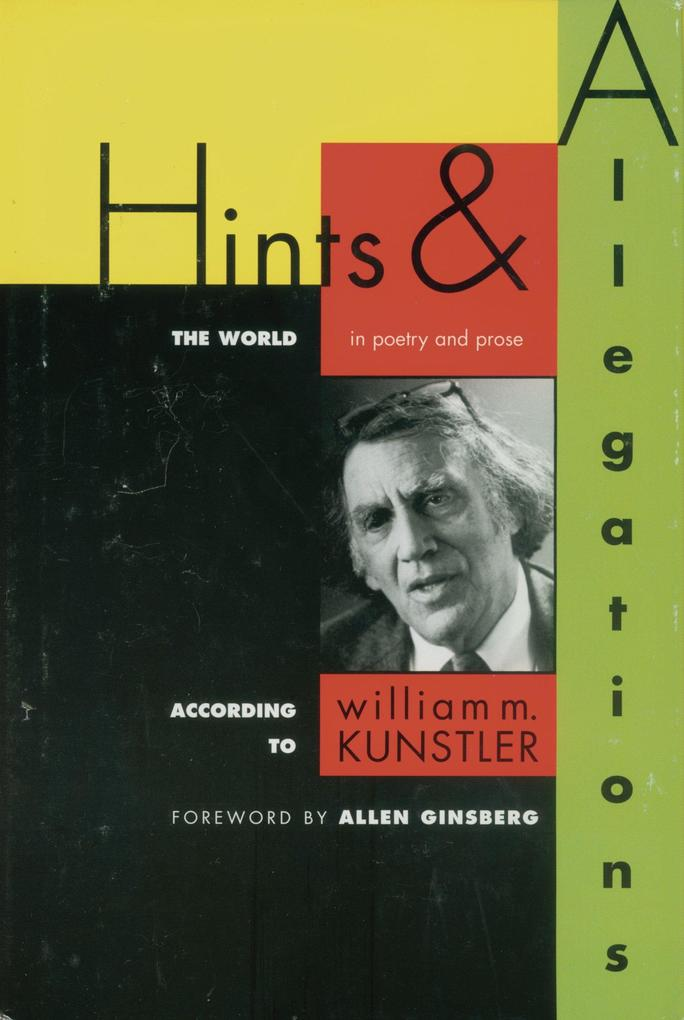 Hints and Allegations: The World (in Poetry and Prose) According to als Buch