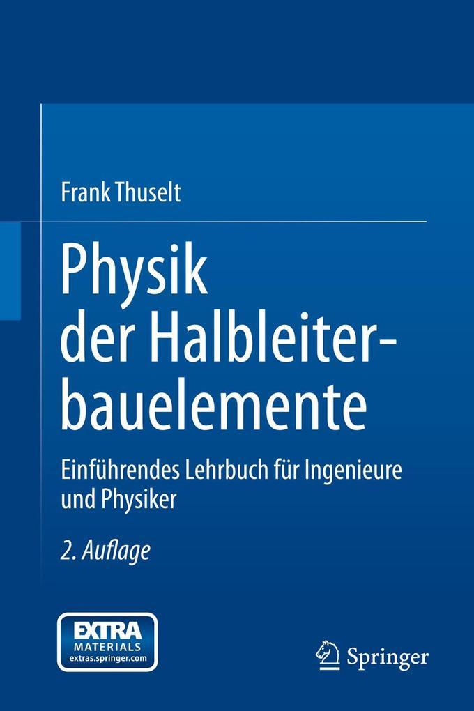 Physik der Halbleiterbauelemente als eBook Down...