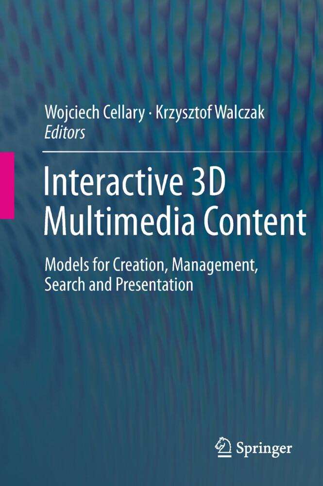 Interactive 3D Multimedia Content als Buch von