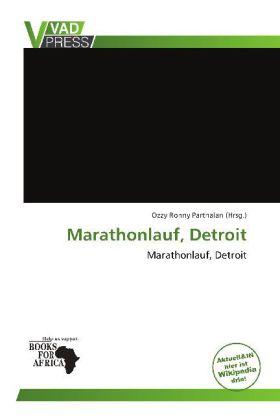 Marathonlauf, Detroit als Buch von