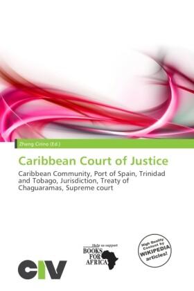 Caribbean Court of Justice als Taschenbuch von